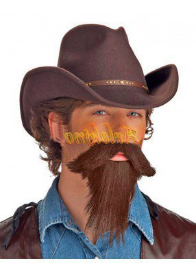 Усы и борода угонщика скота