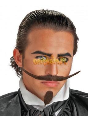 Усы и бородка франта
