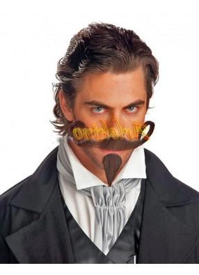 Усы и бородка игрока