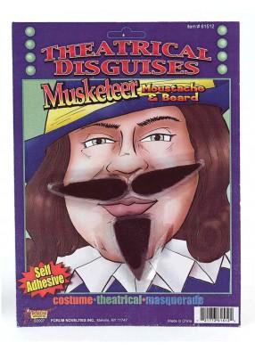 Усы настоящего Мушкетера