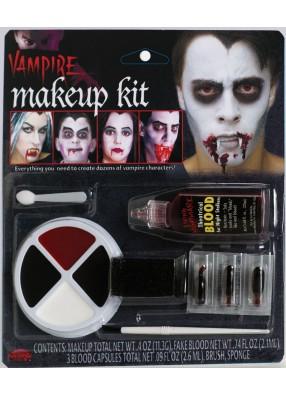 Вампирский грим фото