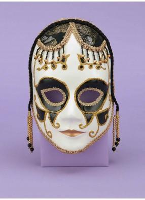 Венецианская маска белая фото