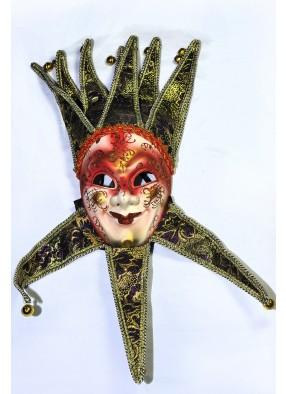 Венецианская маска красная фото