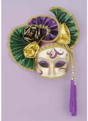 Венецианская маска с гофрой фото