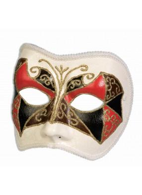 Венецианская маска слоновая кость фото
