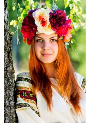 Венок Весенний букет
