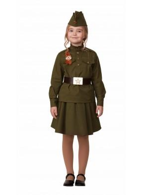 Военный костюм для девочки фото