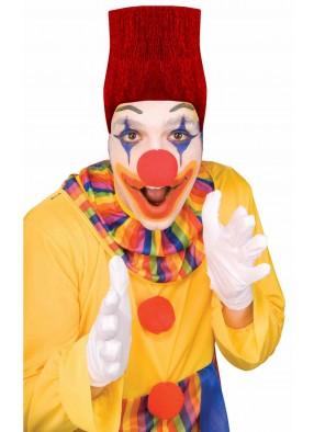 Высокий парик клоуна