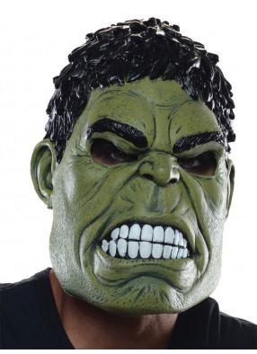 Взрослая латексная маска Халка STD (48-50) Rub