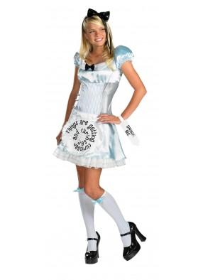 Взрослый костюм Алисы в стране чудес