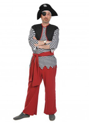 Взрослый костюм пирата Билли