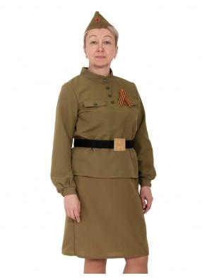 Взрослый костюм солдатки