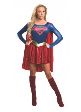 Взрослый костюм Супергерл