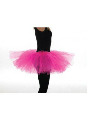 Ярко-розовая юбка Туту