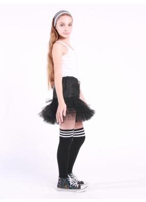 Юбка фатиновая Кокетка черная 1 фото