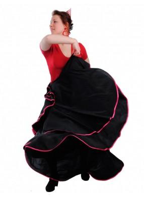 Юбка Фламенко c кантом