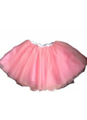 Юбка-пачка розовая детская фото