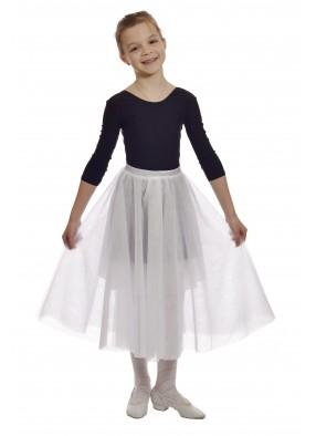 Юбка-шопенка белая детская фото