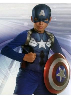 Юный капитан Америка фото
