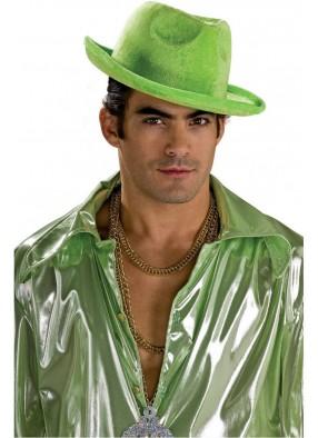 Зеленая гангстерская шляпа