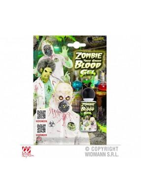 Зеленая кровь зомби