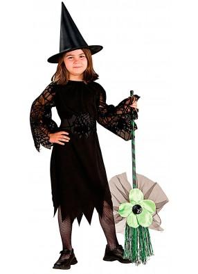 Зеленая метла малышки ведьмы