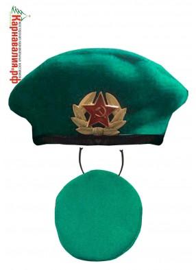 Зеленый берет десантника