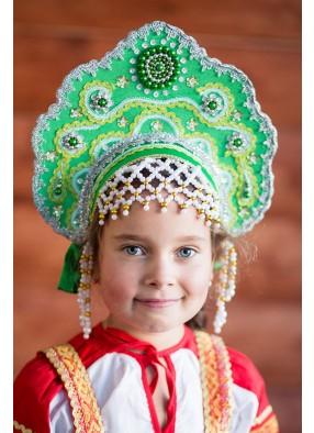 Зеленый кокошник Царевны