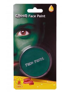 Зеленый грим краска для лица фото