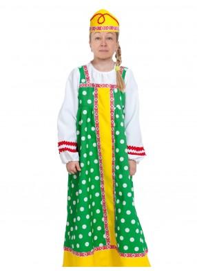 Зеленый костюм Алёнушки