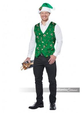 Зеленый костюм эльфа для мальчика