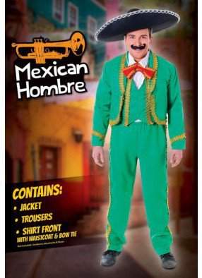 Зеленый костюм Мексиканца
