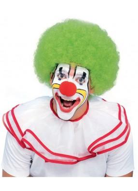 Зеленый парик клоуна