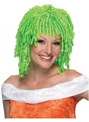 Зеленый парик клоунессы