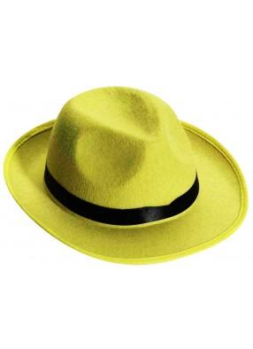 Желтая гангстерская шляпа