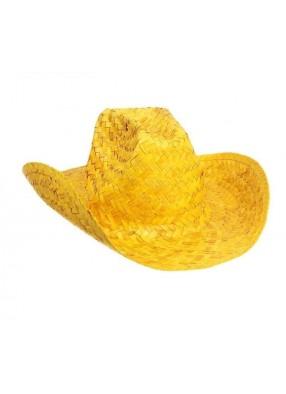 Желтая шляпа ковбоя