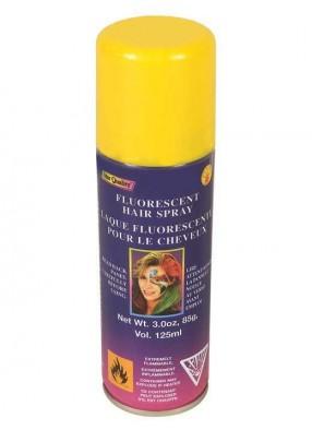 Желтый спрей для волос