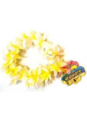 Желтый гавайский браслет