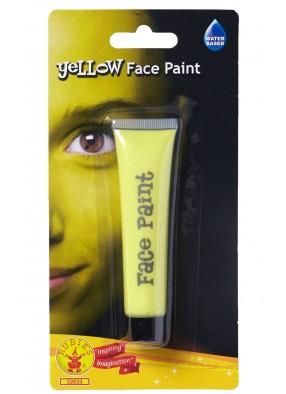 Желтый грим для лица фото