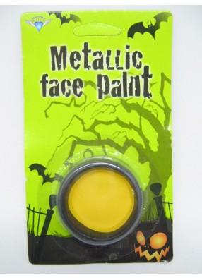Желтый грим на Хэллоуин