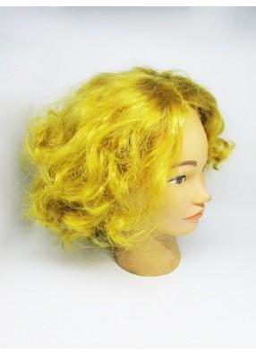 Желтый парик для бала