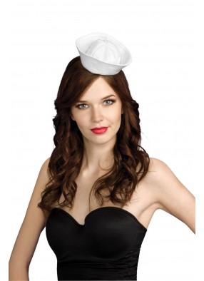 Женская мини-шапочка морячки фото