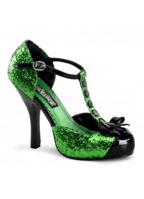 Женские зеленые туфли фото