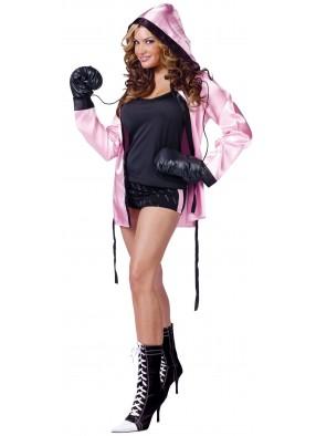 Женский костюм боксерши Нокаут
