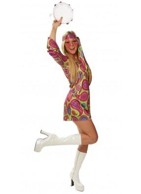 Женский костюм Хиппи 70-хх