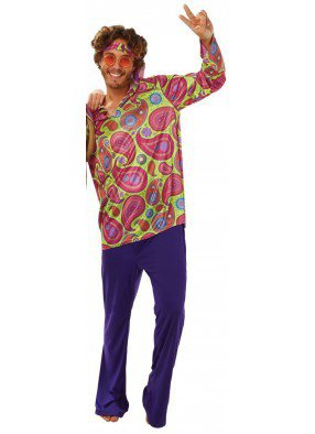 Мужской костюм Хиппи 70-хх фото