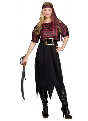 Женский костюм Изящной пиратки фото