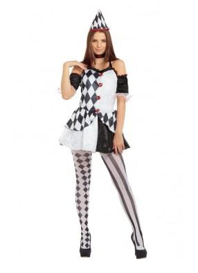 Женский костюм клоунессы Арлекин