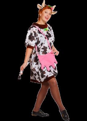 Женский костюм коровки Зорьки