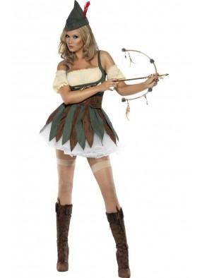 Женский костюм Отважного Робина Гуда 1 фото